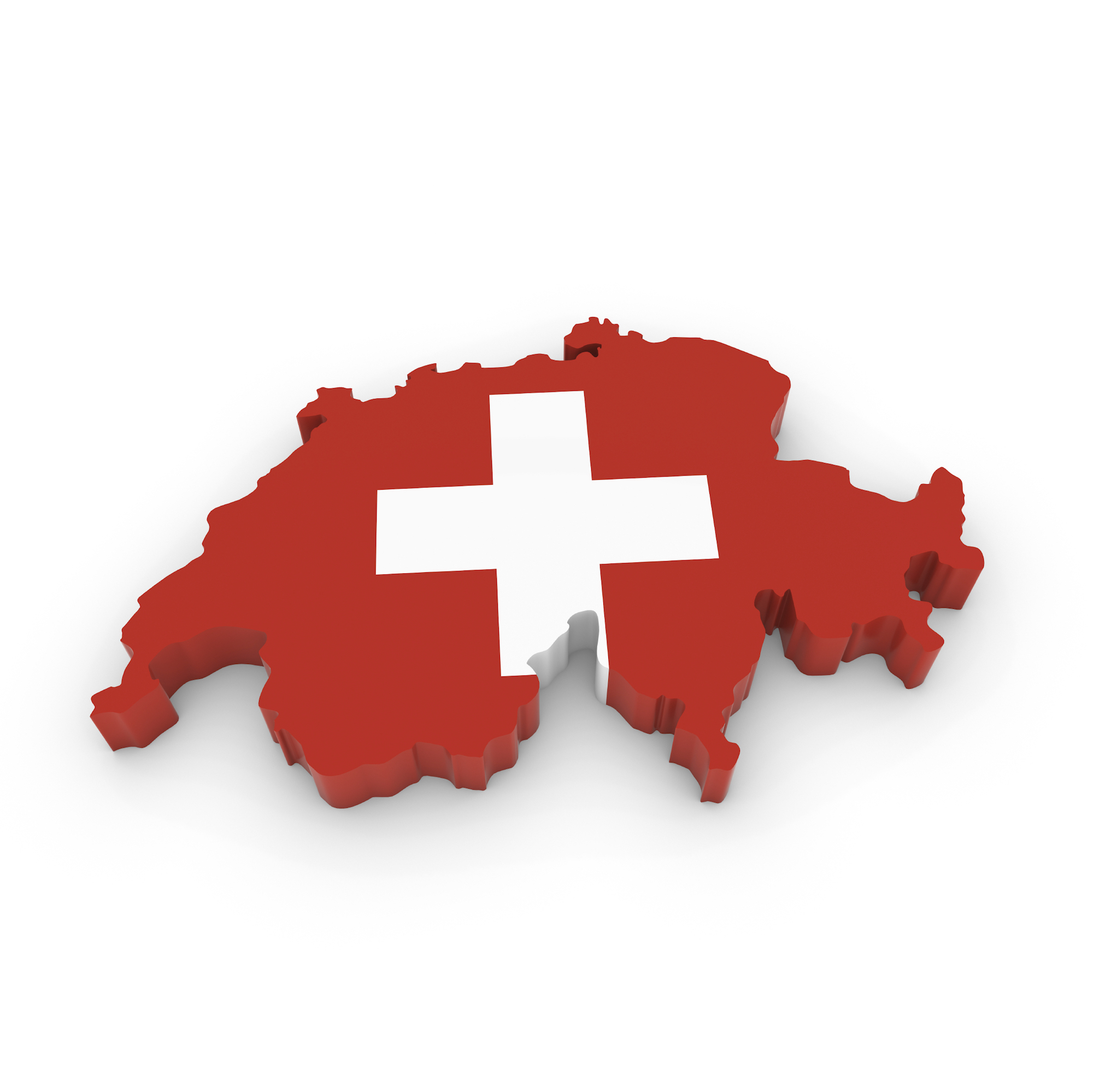 Switzerland Logo 3D