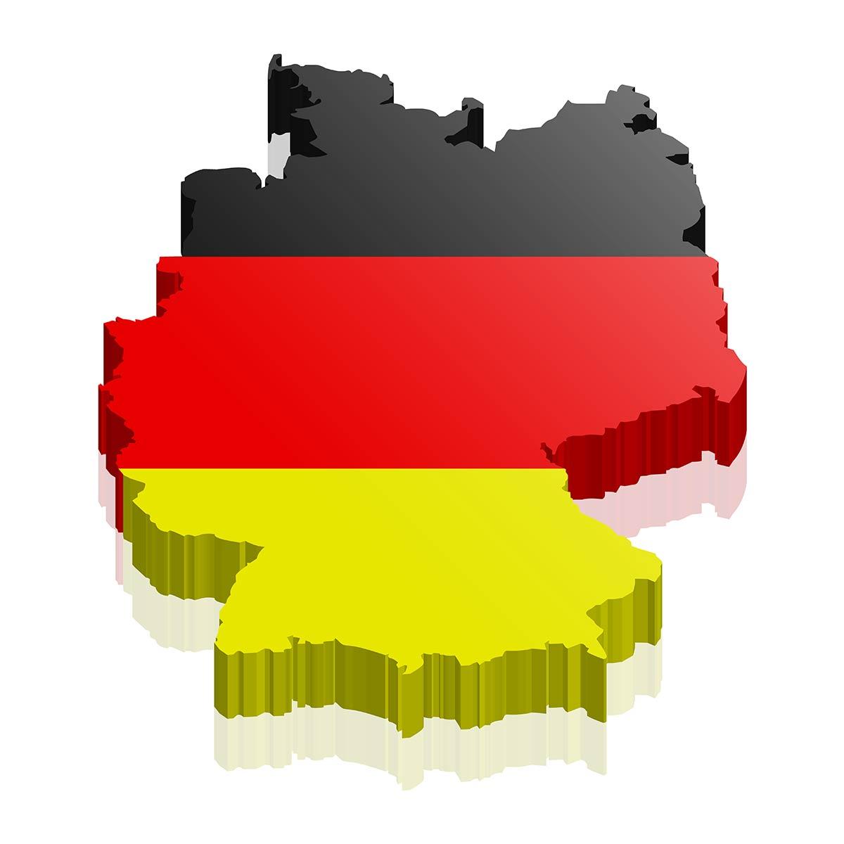 Deutschland 3D Logo