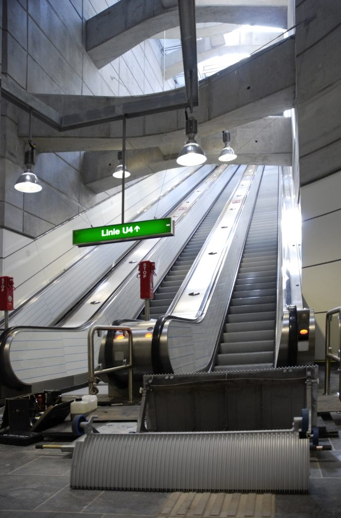 Wienerlinien Rolltreppe U4 RAMS Management