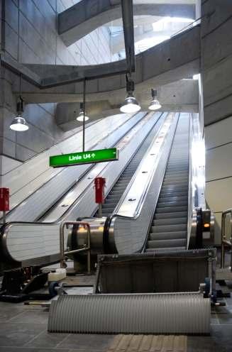 Wienerlinien Rolltreppe U4 RAMS Management