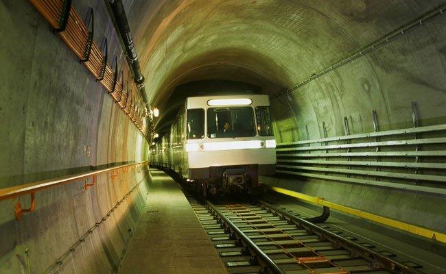 Wien Linie U2 Tunnel